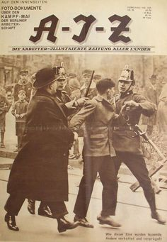 Zeitung: A-I-Z, 1929--Berlin May Day Riots