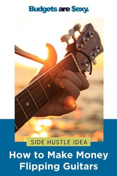Side hustle ideas: how to make money flipping guitars. Check out how to make extra money with this side hustle today. Make More Money, Make Money From Home, Extra Money, Make Money Online, Hustle Series, Classic Video Games, Motivate Yourself, Money Saving Tips, Flipping