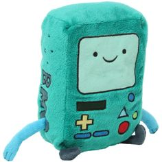 Adventure Time BMO Plush | Hot Topic (16 CAD) ❤ liked on Polyvore featuring house, stuffed animals, accessories, adventure time and toys