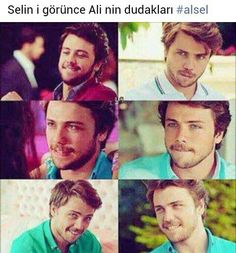♥♡★☆ Turkish Men, Turkish Actors, Hande Ercel, Love Stars, Celebs, Celebrities, Blue Eyes, The Man, Mirrored Sunglasses
