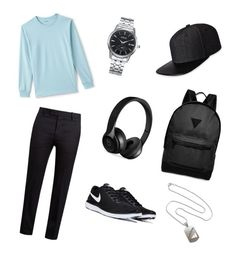 """""""Personal ideal male outfit"""" by angela-reyes-2 on Polyvore featuring Lands' End, Marni, Gents, Beats by Dr. Dre, River Island, men's fashion and menswear"""