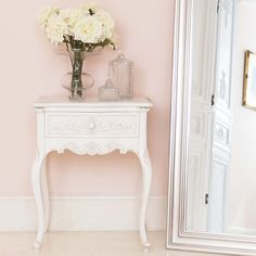 Provencal Charm Shabby Chic Bedside Table by The French Bedroom Company