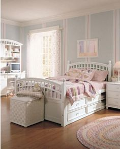 Bon Kids Room: Bed And Storage Place Under The Bed