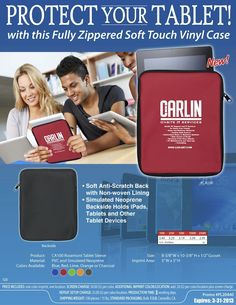 Protect Your Tablet - Custom Cases with Your Company Logo!