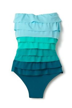 Magicsuit One Piece Colorblock Bandeau | Everything But Water