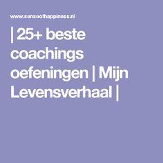 | 25+ beste coachings oefeningen | Mijn Levensverhaal |