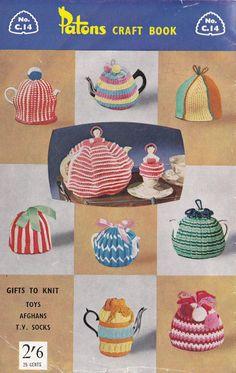 60s Vintage Knitting & Crochet patterns by allthepreciousthings