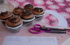 You'll need:  Cupcakes  A pencil  Scissors  Decorative Scissors (optional)  Wrapping Paper  Tape (two sided for extra credit)  Project #3310 Template    How To:  Download our Project #3310 sheet * * *right here* * * and print out at 100%. Cut along the lines to create your template. Trace the template on the back side of the wrapping paper. Cut the wrapping paper along your traced lines. Trim the top edge of the wrapper with decorative scissors. Tape the two ends together. Repeat as needed…