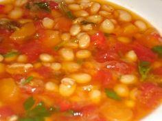 Greek Bean Soup - Fasolada Recipe