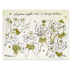 andy warhol christmas cards - Google Search