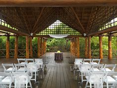 Are you into a more rustic feel? Check out this wedding space at #ParadisusPlayaDelCarmen