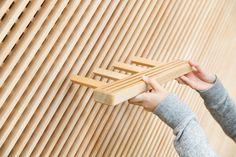 Yusuke Seki : Tadafusa Factory Showroom - ArchiDesignClub by MUUUZ - Architecture & Design Bar Design, Shelf Design, Store Design, Design Ideas, Modular Furniture, Furniture Design, Interior Architecture, Interior Design, Regal Design