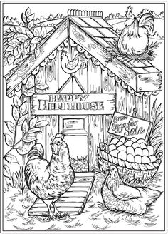 6 Farm Life Coloring Pages – Stamping Farm Animal Coloring Pages, Printable Adult Coloring Pages, Adult Coloring Book Pages, Coloring Pages To Print, Free Coloring, Coloring Sheets, Coloring Books, Free Colouring Pages, Coloring Pictures Of Animals