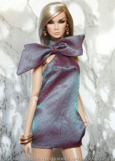 https://flic.kr/p/QG55Kz   Reroot No. 20   Never Ordinary Lilith LDolls reroot Dress: Marcelo Jacob www.marcelojacob.com/kathia-bow-dress/