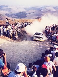 Rallying with Group B creates a fantastic showcase on the purpose built Live Rally Stage with its challenging twists and turns. www.raceretro.co.uk