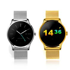 54.50$  Buy now - http://ali8pg.worldwells.pw/go.php?t=32769355572 - New Heart Rate Monitor Watch K88H Smart Watch Circle Touch Display MTK2502C Pedometer Smartwatches Fitness Tracker Wristwatch