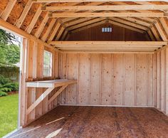 Storage shed used sheds utility side 10x16 6107 fisher sheds pinterest - The home in the loft space without borders ...