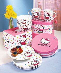Tea Time Sanrio Hello Kitty 3pcs Pencil Set