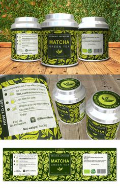 What are matcha vs green tea most important differences? What is better to drink, matcha or green tea? Coffee Packaging, Food Packaging, Product Packaging, Product Label, Best Matcha Tea, Matcha Green Tea, Macha Tea, Matcha Tea Benefits, How To Make Matcha