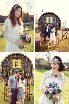 Really want an authentic gypsy romany caravan at my wedding!