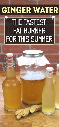 Ginger Water: The Fastest Fat Burner For This Summer