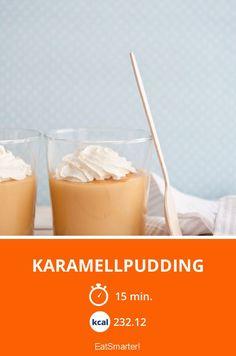 Karamellpudding - smarter - Kalorien: 232.12 kcal - Zeit: 15 Min.   eatsmarter.de
