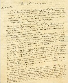 The following is the original December 21, 1809 letter by John Adams followed by the transcription of this letter. The transcript has been modified from the original to include modern grammar and spelling.