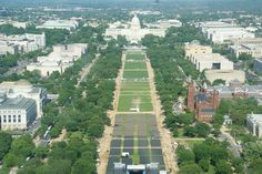 The National Mall in Washington DC, D.C.