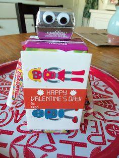valentine juice box craft