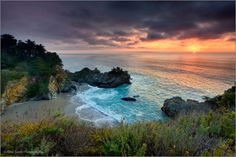 Winter Sunset McWay Cove by Don Smith on 500px