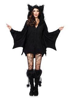 Freche Fledermaus Hoodie Dress von maskworld.com