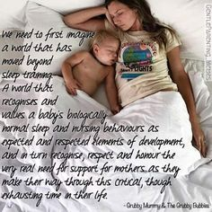 Goodnight mamas <3 Is your little one sleeping with you tonight? www.thenaturalparentmagazine.com  +Pregnancy, Birth & Parenting for conscious parents+  ~ via our friend Grubby Mummy and the Grubby Bubbies