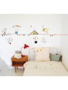 Wall Sticker Circus, 5 m.
