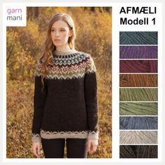 32 AFMÆLI Modell 1 – Garnmani.no