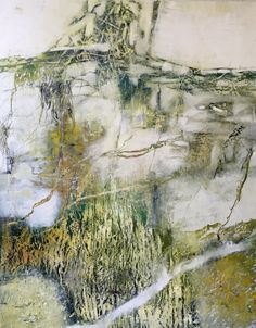 Mixed media on panel, 60x48 Consensus of One, Jeane Myers www.jeanemyers.com