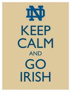 Go Irish.