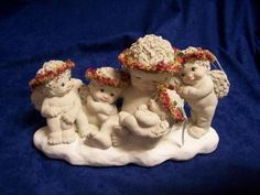 Dreamsicles Lullaby Baby 1995 Angels Christmas..this one reminds me of ALL my FIVE Daughters..