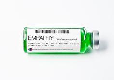Empathy is the ability of blurring the line between self and other.