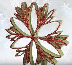 In this video tutorial you will learn how to make beautiful DIY Christmas Ornaments with glitter, glue and one other item that we all use and typically throw away. Diy Christmas Snowflakes, Christmas Bells, Christmas Crafts For Kids, Christmas Art, Christmas Projects, Holiday Crafts, Beautiful Christmas, Paper Ornaments, Ornament Crafts