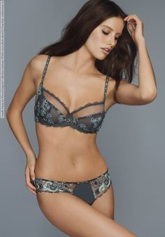 Australian model Camille Piazza for Wacoal Lingerie AW 2011