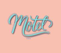 HANDLETTERING | VINTAGE SIGNAGE INSPIRED LETTERING | Courtney Shelton / HIBRID | #handlettering #typography #design #brushlettering #calligraphy #vintage #signage