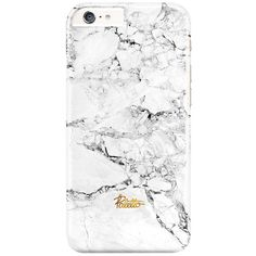 Snow / iPhone Marble Case (47 AUD) ❤ liked on Polyvore featuring accessories and tech accessories