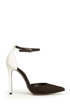 Schutz Irma Heels in Black / White 6 - 10 | DAILYLOOK