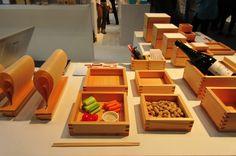 Masu box used for serving lunch #masu #itadakimasu #hakomasu #ohashi #mast