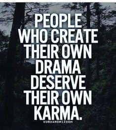 Sharing some great quotes on karma and hope you all be positive and spread the same. I believe in good karma, do good get good! Amazing Quotes, Great Quotes, Quotes To Live By, Drama Quotes, Words Quotes, Drama Queen Quotes, Swag Quotes, Quotes Images, Quotes Quotes