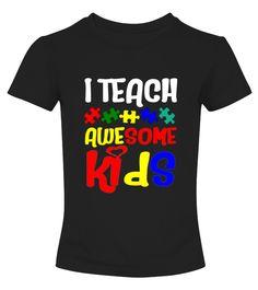 Autism Awareness Special Education Teacher T Shirt  Funny Autism T-shirt, Best Autism T-shirt
