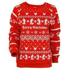 Christmas Sweatshirt-Official Disney Licensed Mickey Mouse Sweatshirt... ($20) ❤ liked on Polyvore featuring tops, hoodies, sweatshirts, disney tops, plus size red tops, red mickey mouse sweatshirt, red top and mickey mouse sweatshirt