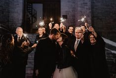 A moody and dark winter wedding by Julia Garcia-Prat Photography. An elegant ceremony at Knox Presbyterian church and a reception at All saints Event Space in Ottawa, Ontario Wedding Exits, Wedding Vendors, Anglican Church, Dark Winter, Winter Theme, All Saints, Sparklers, Newlyweds, Wedding Photography
