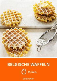 Belgische Waffeln - smarter - Zeit: 15 Min. | eatsmarter.de