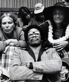 Herbie Hancock and Joni Mitchell